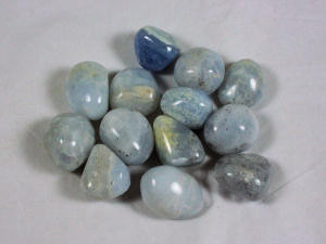 Tumbled Blue Calcite
