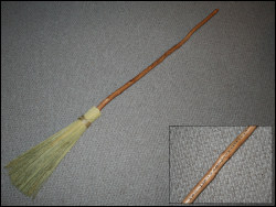 "Handcrafted 60"" Besom - Futhark"