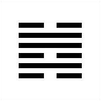 I Ching Hexagram 47 - K'un
